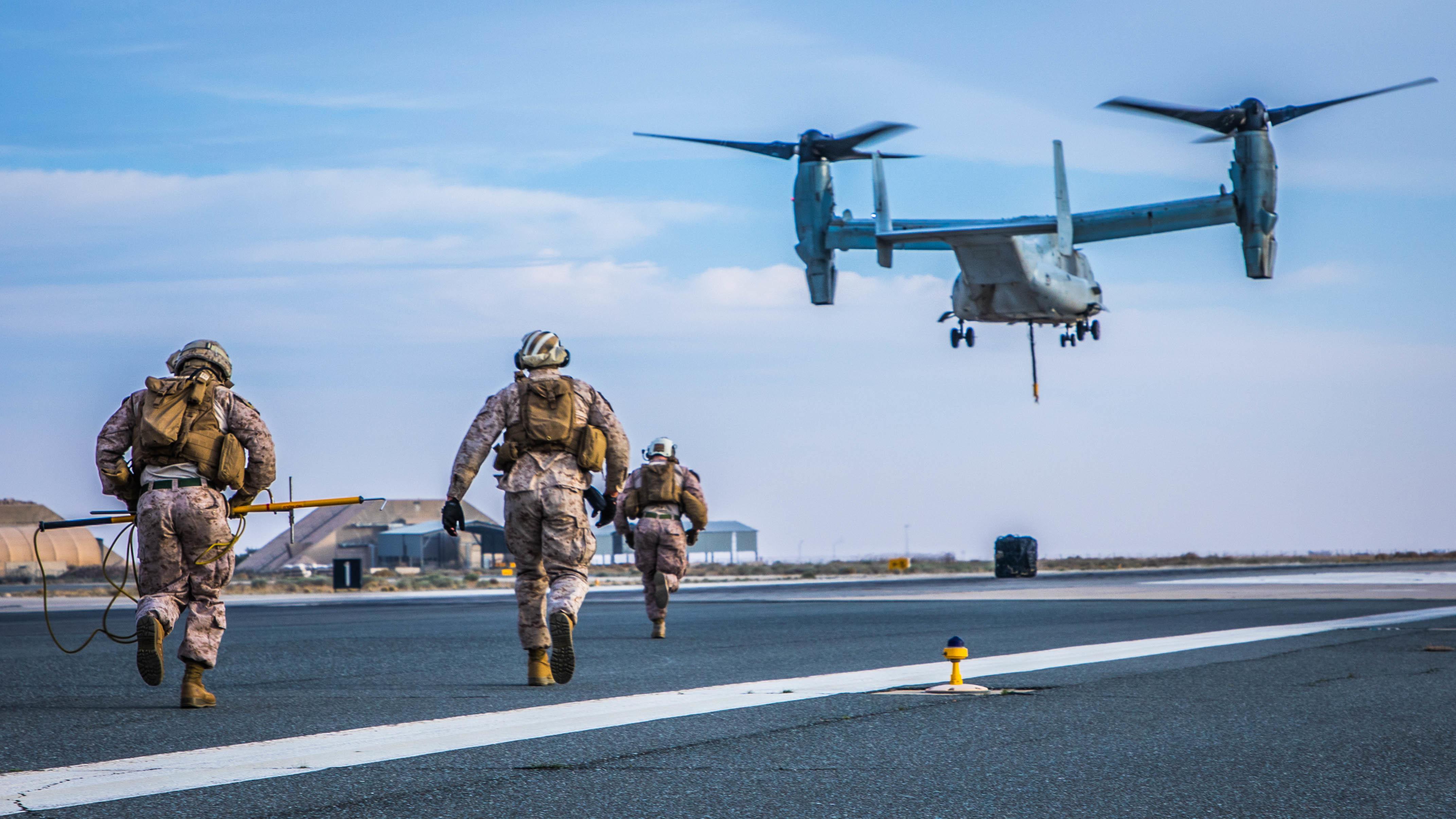 Helicopter Support Team Inbound